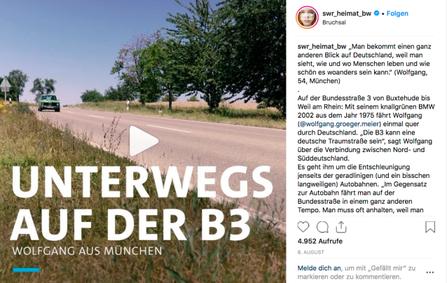SWR Heimat Bundesstrasse 3