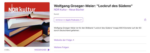 NDR Kultur -Neue Bücher