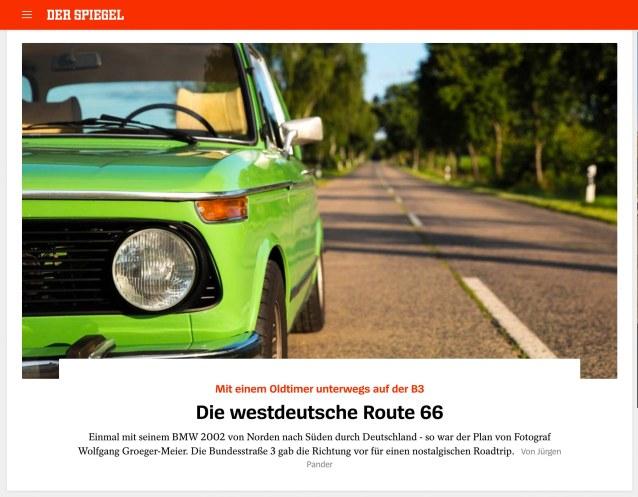 Spiegel Online Bundesstraße 3